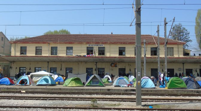 From Transit Hub to Dead End: A Chronicle of Idomeni